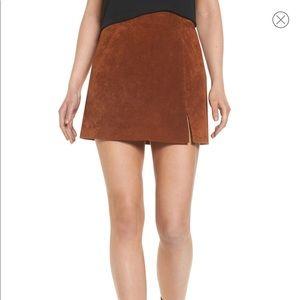 NWOT BlankNYC Suede Miniskirt
